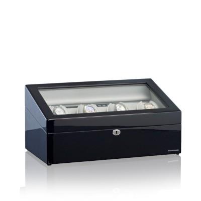 Georg Königbauer Designhütte Uhrenbeweger München 4 LCD Schwarz