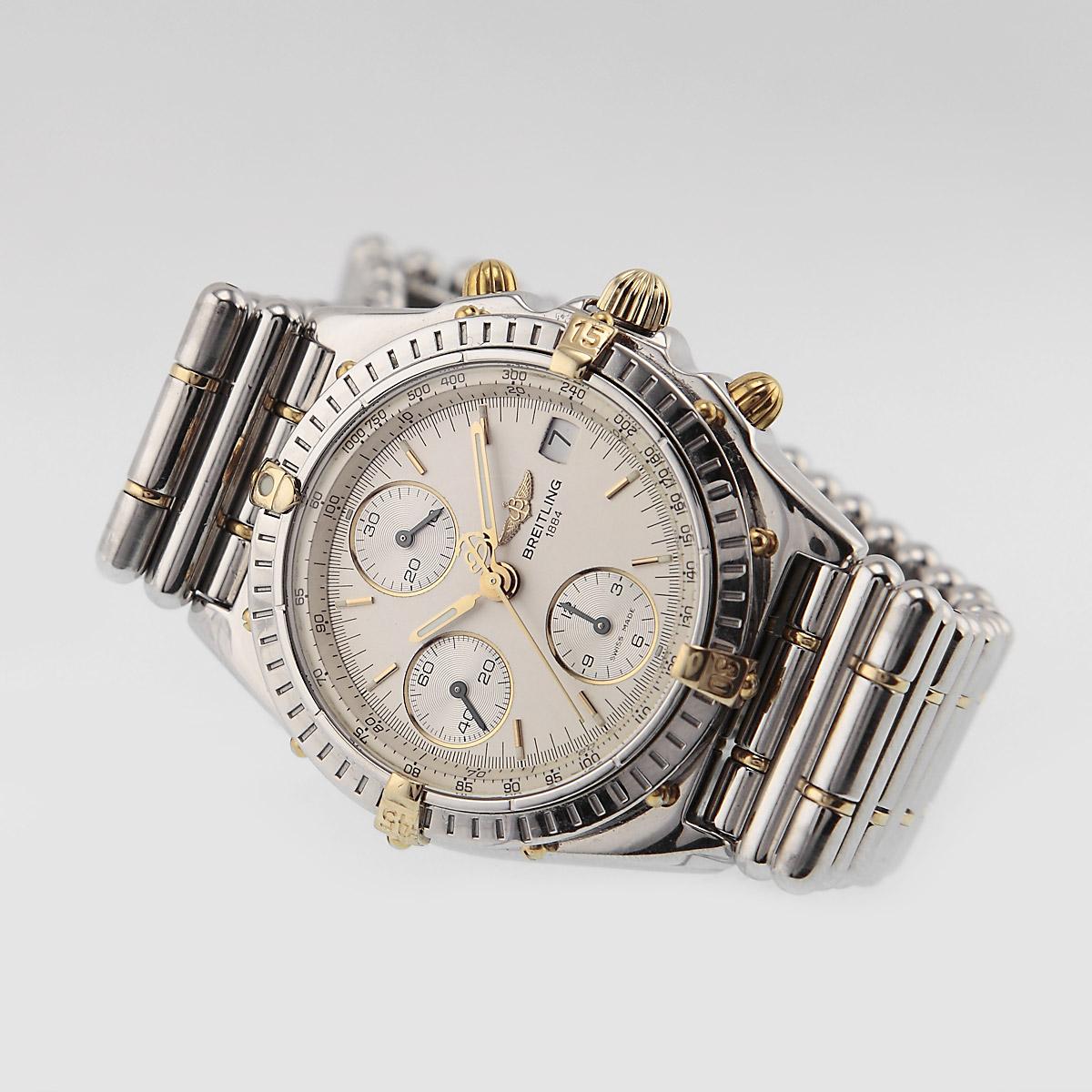 Vintage breitling chronomat history