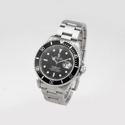 Watch Rolex Submariner Date black, Georg Königbauer